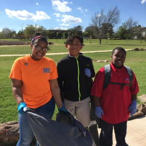 LitterBlitz Kickoff at Memorial Park